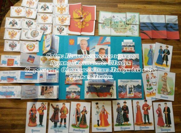 Лэпбук, Россия, патриотическое воспитание