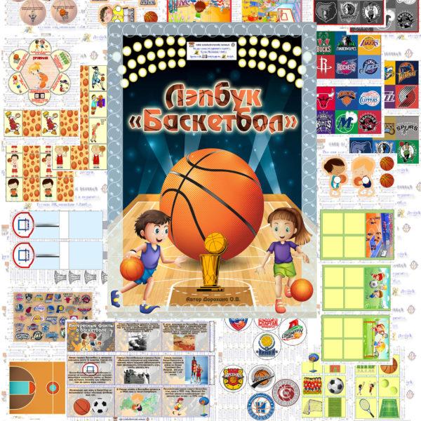 Лэпбпук, баскетбол, спорт, скачать, кармашки, шаблоны, своими руками