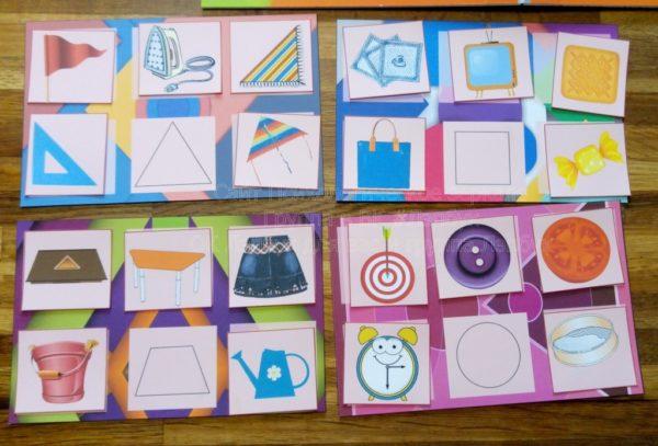 Лэпбук, фигура, геометрические, форма, круг, квадрат, треугольник, овал, шар, куб, загадки, стихи, лото, шаблоны, скачать, купить