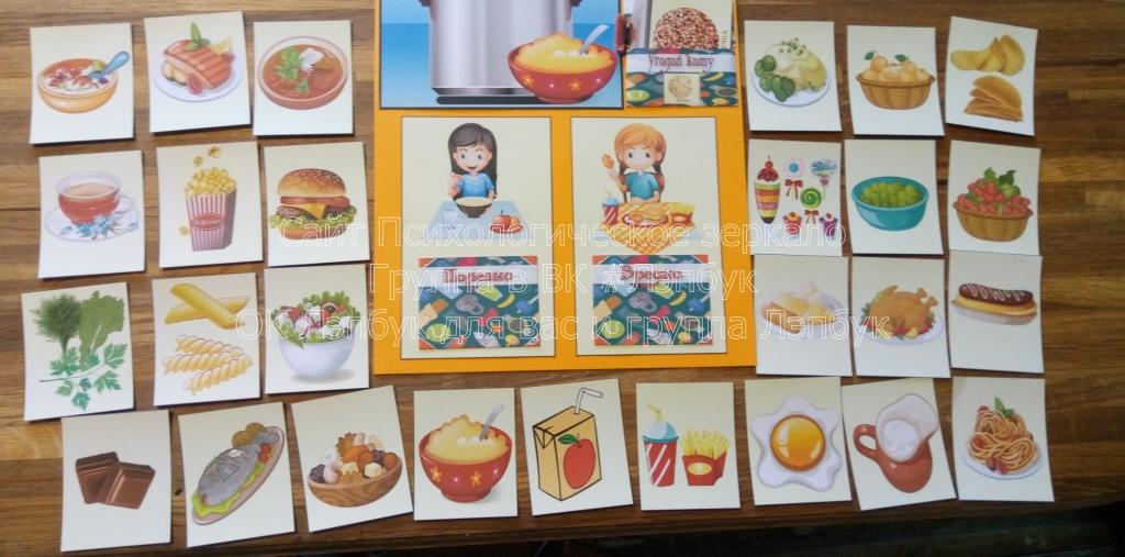 Лэпбук, ЗОЖ, здоровье, питание, скачать, купить, загадки, правильное питание, шаблон, кармашки
