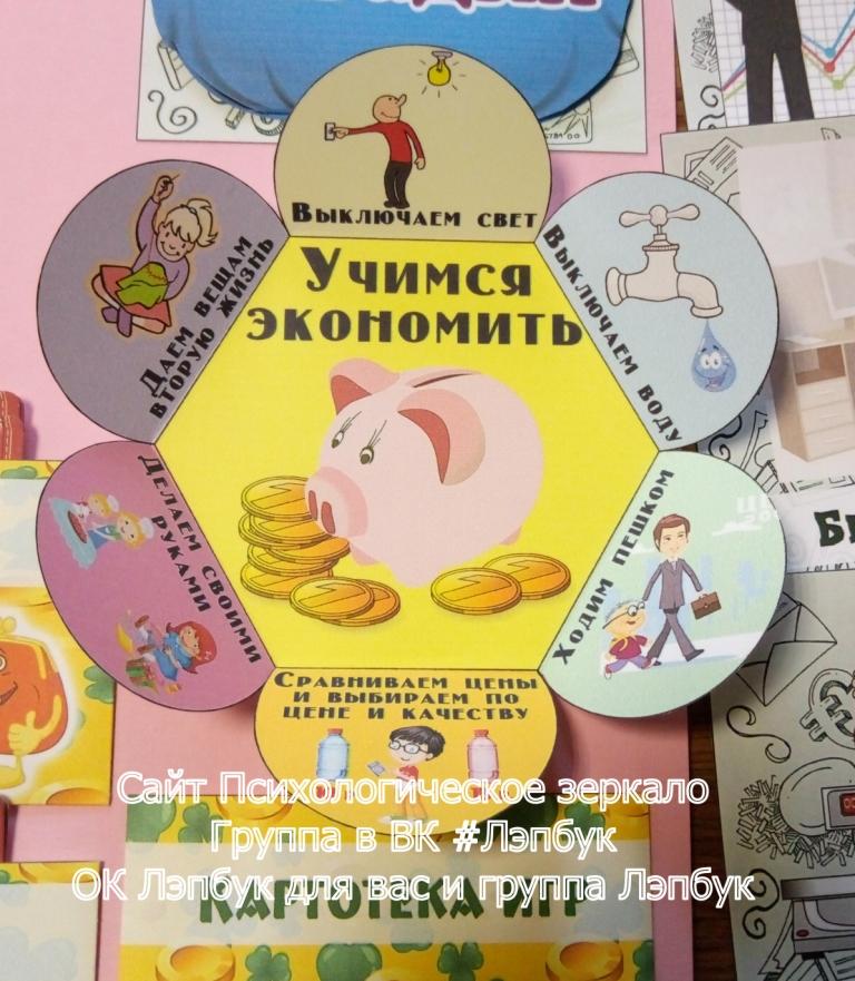 Финансовая, грамотность, экономика, деньги, детям, экономическое воспитание, лэпбук, скачать, купить, шаблоны