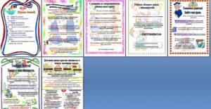 Права, обязанности, права детей, обязанности родителей, папка-передвижка, листовка, скачать, бесплатно