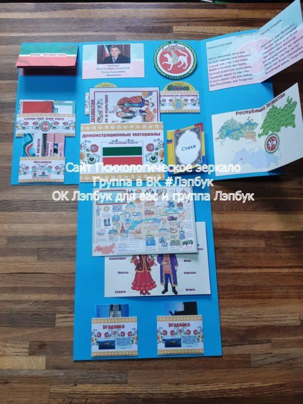 Лэпбук, татарстан, казань, достопримечательности, герб, флаг, гимн