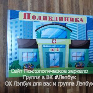 Поликлиника, Больница, Ширма, сюжетно-ролевые, игры, ширма для, для ДОУ, для игры, для детей, игры Ольги Дорохиной